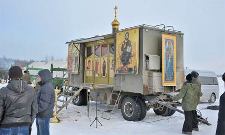 Russian Army's Orthodox Church-in-a-box - Including a Battalion of Parachuting Priests