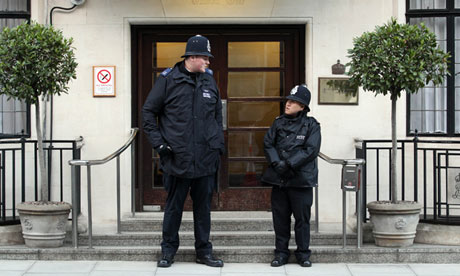PC Anthony Wallyn and PC Tony Thich