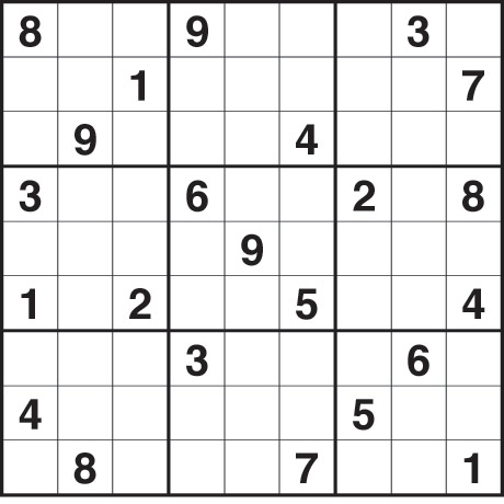 Hard Sudoku on Fill The Grid So That Every Row  Every Column And Every 3x3 Box