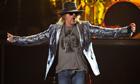 Guns N' Roses singer Axl Rose