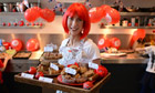 Samantha Cameron bakes cakes at her home in Downing Street