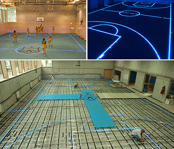 Beautiful Games Tron Style Sporting Arenas Sport The