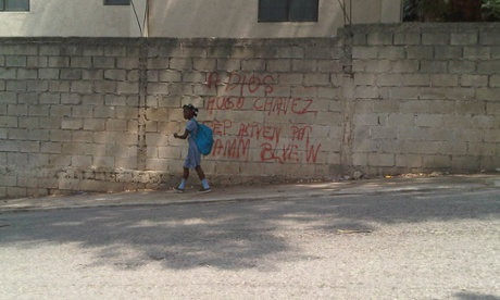 Graffiti in Port au Prince: