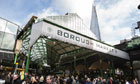 The Shard looms over Borough Market