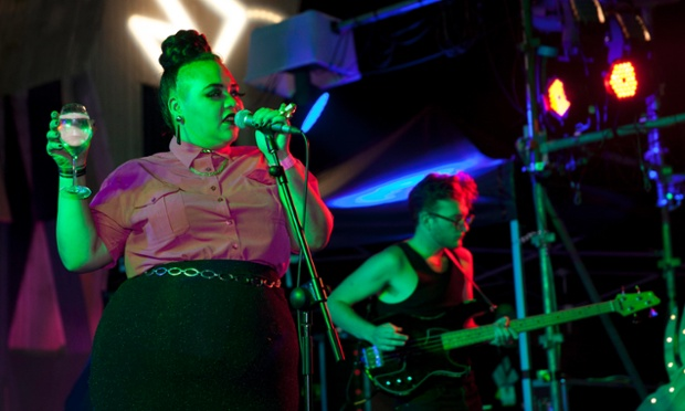 Kira Peru and the Bruise perform at Barrio