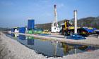 Cuadrilla shale gas drilling rig
