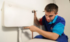 Billy Utting plumbing apprentice