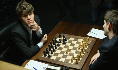 Chess tournament Magnus Carlsen world number one