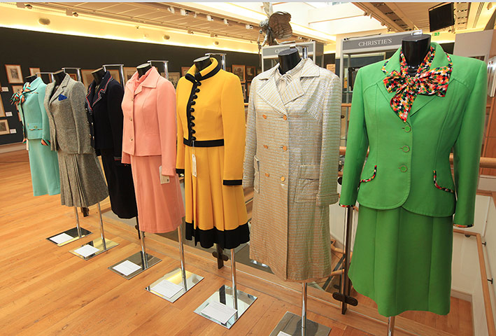 Thatcher auction: Margaret Thatcher's suits and dresses