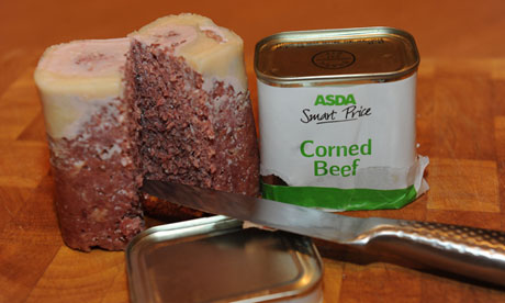 Corned beef recall after bute found