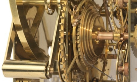 Detail of John Harrison's H3 sea clock