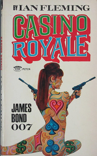 Casino Royale: Casino Royale - Signet Books, 29th printing, Casino Royale 1967 movie cover