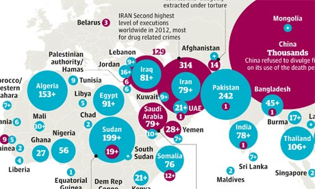 Amnesty International executions around the world