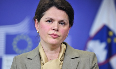 Slovenian Prime Minister Alenka Bratusek assured Brussels reforms will continue in the hope of avoiding a bailout.