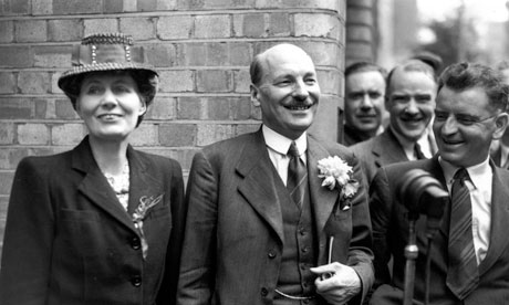 Clement Attlee violet attlee