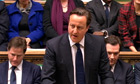David Cameron in praise of Margaret Thatcher