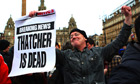 Margaret Thatcher death