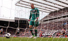 Newcastle goalkeeper Rob Elliot
