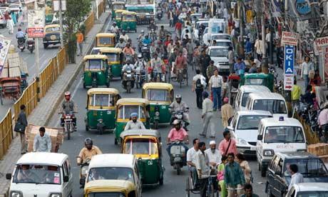 Delhi traffic