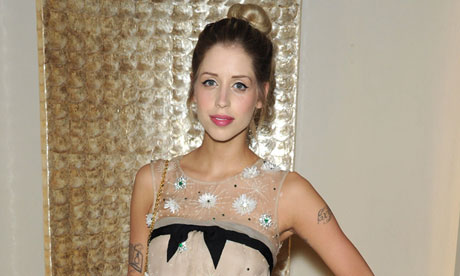 Peaches Geldof: believes in a thing called Thelema.