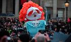 Margaret Thatcher effigy