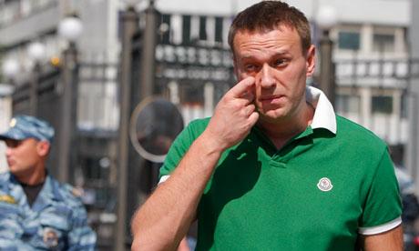 Самый красноречивый критик Путина, Алексей Навальный, сталкивается с местью в суде
