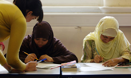 English lessons in Tower Hamlets