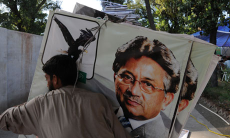 Pervez Musharraf banned from standing in Pakistani elections ...pervez musharraf