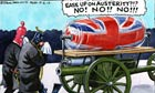 Steve Bell on Margaret Thatcher's funeral