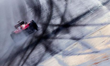 Ferrari F1 car at the German Formula One Grand Prix German Formula One Grand Prix