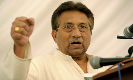 Pakistan's Pervez Musharraf under house arrest in Islamabad ...pervez musharraf