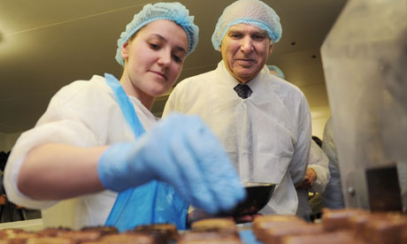 Vince Cable visits Casemir Chocolates, Enfield 10/4/13