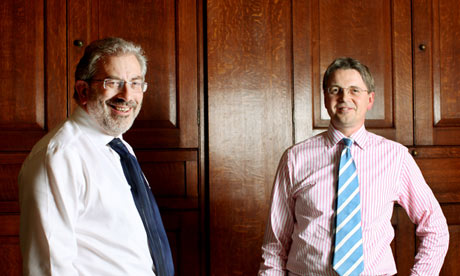 Bob Kerslake and Jeremy Heywood