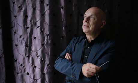 Brian Eno in his studio, London 10/10/12