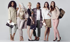 Models replace celebrities for Marks and Spencer autumn/winter womenswear collection, Britain 