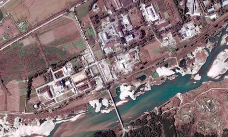 Yongbyon complex nuclear facility, North Korea