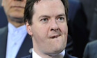 George Osborne making a face