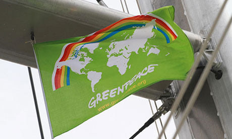 Greenpeace activists board ship carrying Australian coal