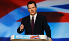 George Osborne at the 2012 Conservative conference