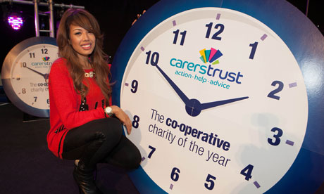 Jade Ewen at charity of the year