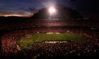 Candlestick Park during powercut