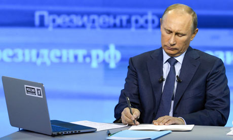 Владимир Путин превзошел самого себя в телевизионной «Прямой линии»