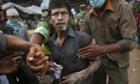 A Bangladeshi garment worker Savar, Bangladesh
