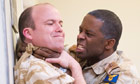 Rory Kinnear (Iago) and Adrian Lester (Othello)