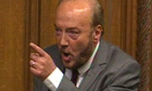 George Galloway speaking in the
