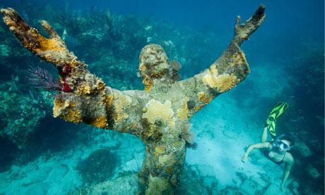 John Pennekamp Coral Reef Statue Park