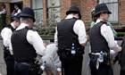The justice minister, Chris Grayling, says police are giving out too many cautions