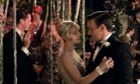 CAREY MULLIGAN & JOEL EDGERTON meet each other in a scene of the film the Great Gatsby