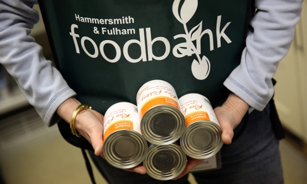 The Foodbank distributes donated food supplies to people in need in west London. In the two and half years since it began, the charity has handed out enough food to make 25,000 meals.