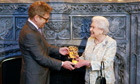 Queen given Bafta award for lifetime support of British film